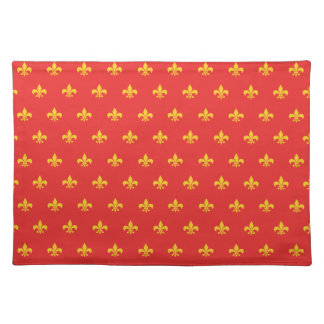 Royal French Red Placemat
