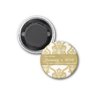 """Royal Gold """"Save the Date"""" Magnets"""