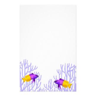 Royal Gramma Coral Reef Fish Stationery