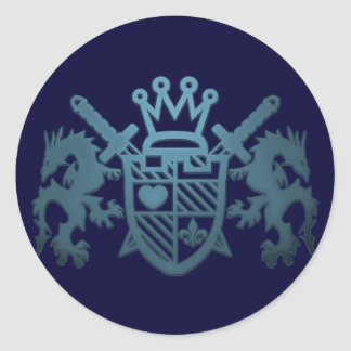 ROYAL_GUARD ROUND STICKER