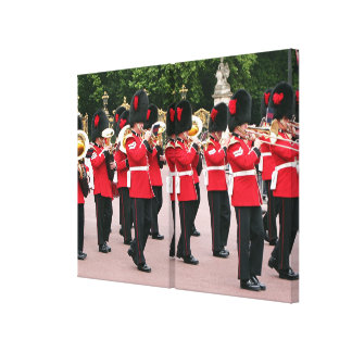 Royal Guards Band, London, England Canvas Print