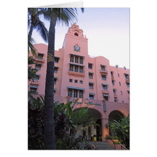 Royal Hawaiian Hotel Card
