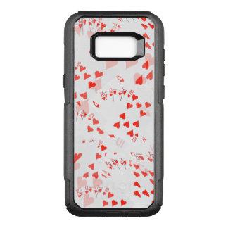 Royal Heart Flush Pattern, OtterBox Commuter Samsung Galaxy S8+ Case