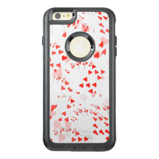 Royal Heart Flush Pattern, OtterBox iPhone 6/6s Plus Case