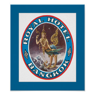 Royal Hotel Bangkok Poster