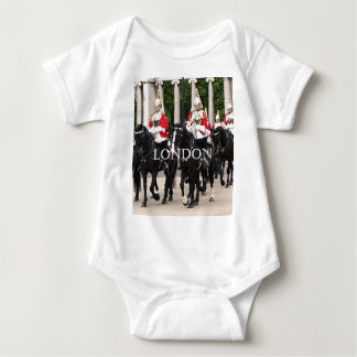 Royal Household Cavalry, London Baby Bodysuit
