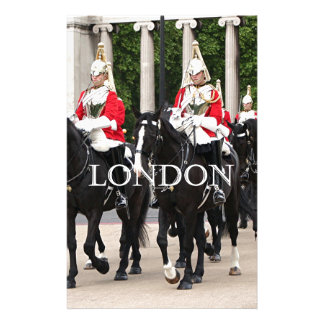 Royal Household Cavalry, London Personalized Stationery