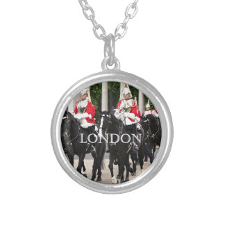 Royal Household Cavalry, London Silver Plated Necklace