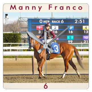 Royal Inheritance - Manny Franco Square Wall Clock