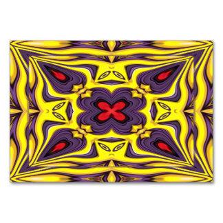 Royal Kaleidoscope   Tablecards Table Cards