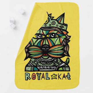 """""""Royal Kat"""" Baby Blanket"""