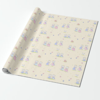 Royal Kittens Wrapping Paper