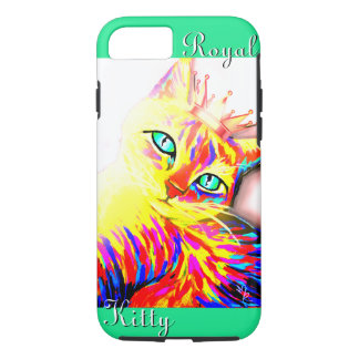 Royal Kitty phone case