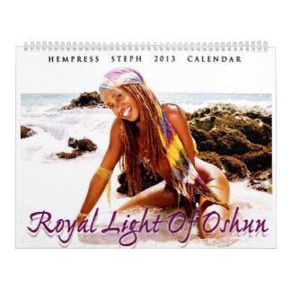 """Royal Light Of Oshun"" - 2013 Calendar"