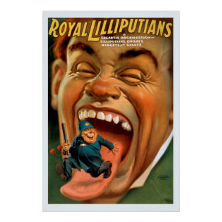 Royal Lilliputians Vintage Poster