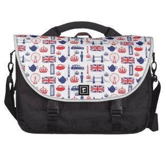 Royal London Landmarks Pattern Laptop Commuter Bag