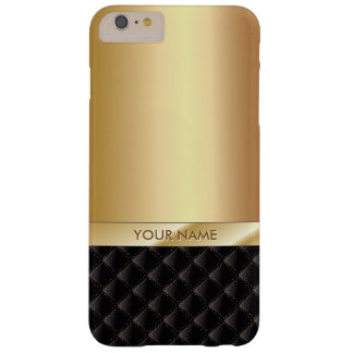 Royal Luxury Gold Custom Name iPhone 6/6S Plus Barely There iPhone 6 Plus Case