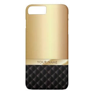 Royal Luxury Gold Custom Name iPhone 8 Plus/7 Plus Case