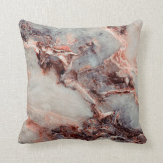 Royal Marble Throw Pillow