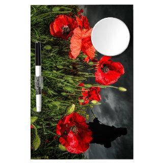 Royal Marine Remembers Dry Erase Whiteboards