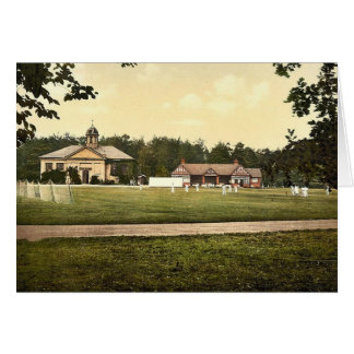Royal Military College, cricket grounds, Sandhurst Card