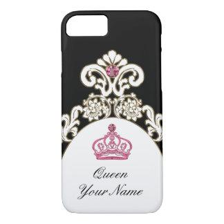 Royal Monogram Monarchy Crown iPhone 8/7 Case