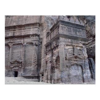 Royal Monument, Petra, Jordan Postcard