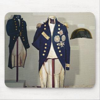 Royal Naval uniform worn Mouse Pad