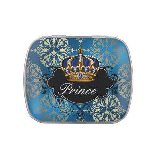 Royal Navy Blue Gold Prince Baby Boy Shower Candy