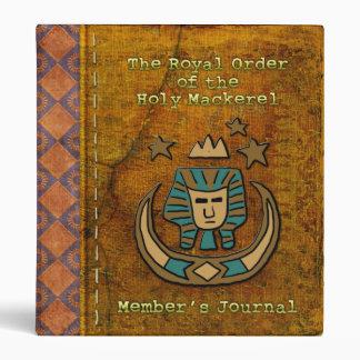 Royal Order of the Holy Mackerel Member's Journal Binder