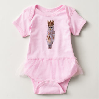 Royal Owl #1 Baby Bodysuit