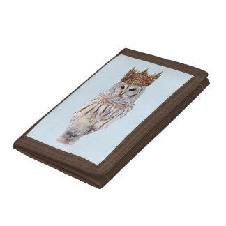 Royal Owl #1 Tri-fold Wallets