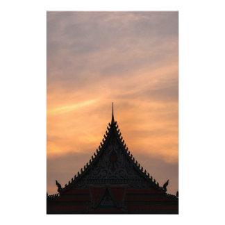 Royal, Palace architecture, Cambodia Stationery
