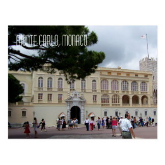 Royal Palce of Monaco in Monte Carlo France Postcard