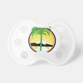 Royal Palm Beach Sea Mountain Retro Pacifier