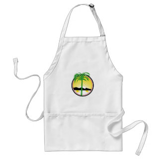Royal Palm Beach Sea Mountain Retro Standard Apron