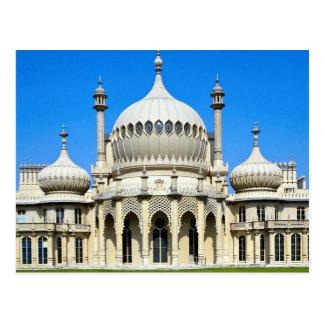 Royal Pavilion, Brighton, Sussex, England Postcard
