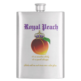 Royal Peach Drink Recipe Hip Flask