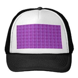 ROYAL PINK Pocket Print Template DIY add TEXT  FUN Mesh Hat