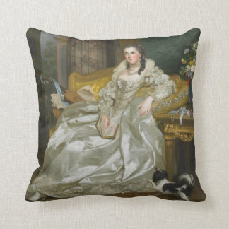 Royal Portraits Pillow Throw