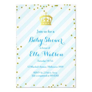 Royal Prince Baby Shower Invitation