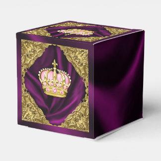 Royal Princess Baby Shower Favor Box