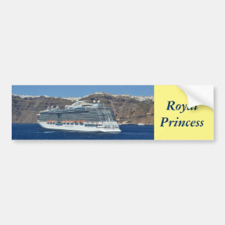 Royal Princess Bumper Sticker