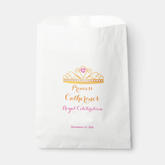 Royal Princess Celebration Favor Bag