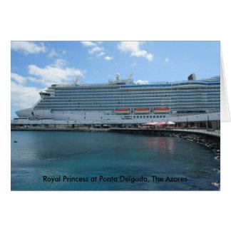 Royal Princess Cruise Ship Card