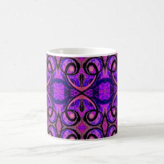 Royal Purple Abstract Coffee Mug   Geometric