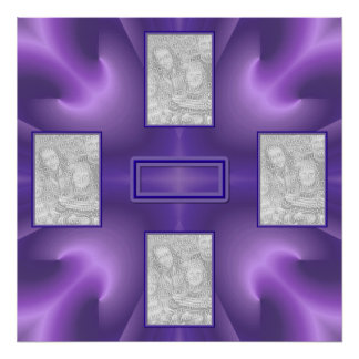 Royal Purple Delight 2 Poster