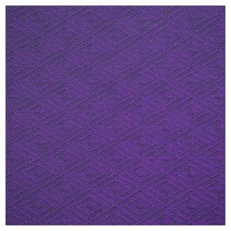 Royal Purple Diamond Crosshatch Fabric
