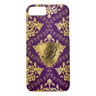 Royal Purple & Gold iPhone 7 Case