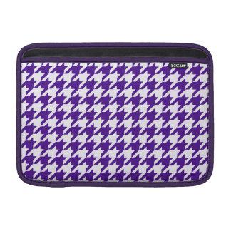 Royal Purple Houndstooth 1 Sleeves For MacBook Air
